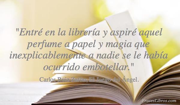 Imagen Entré En La Librería Y Aspiré Aquel
