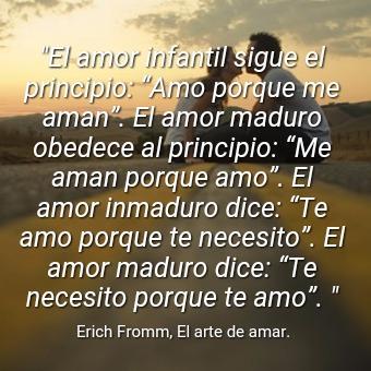 Imagen El Amor Infantil Sigue El Principio Amo